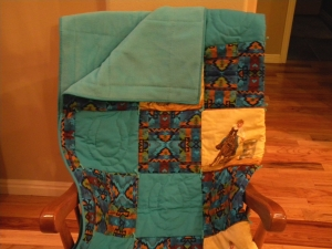 Barrel Racing Rodeo Quilt