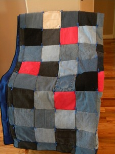 Great outdoor quilt!