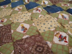Classic Cowgirl Baby Quilt