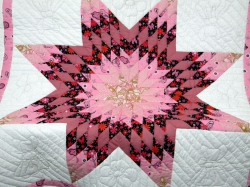 Western Star Baby Girl Quilt