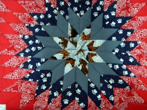 Center of Baby Quilt